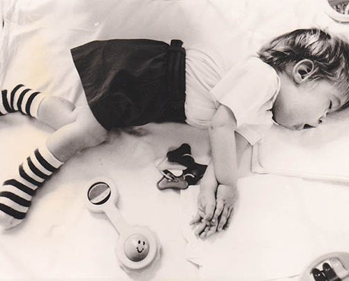 James Asleep In Cot_web