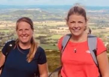 The Ladies do the Cheltenham Three Peaks Challenge