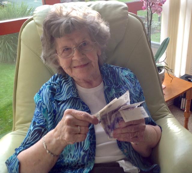 Happy 100th Birthday Mrs McAlinden