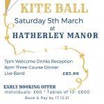 Kite Ball 2022 - 5th March @ Hatherley Manor